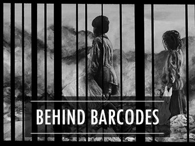 Behind barcodes  /  Derrière les codes barres
